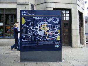 Falkirk Pedestrian signs main image